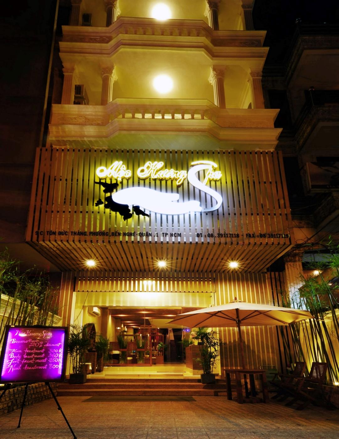 best spas in Saigon district 1