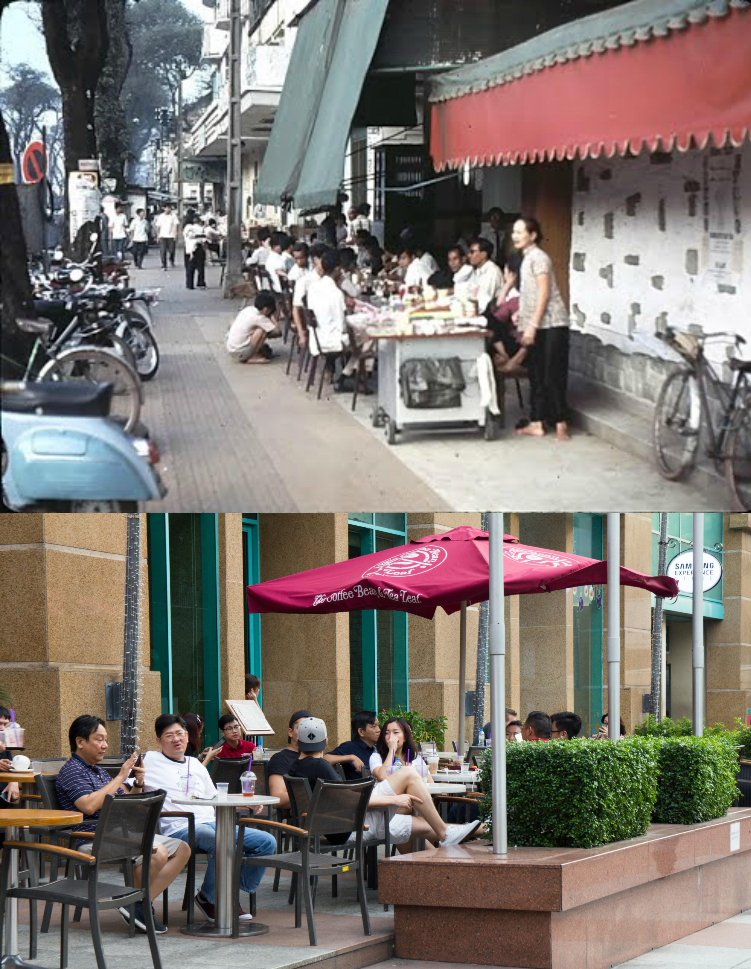 Saigon now and then