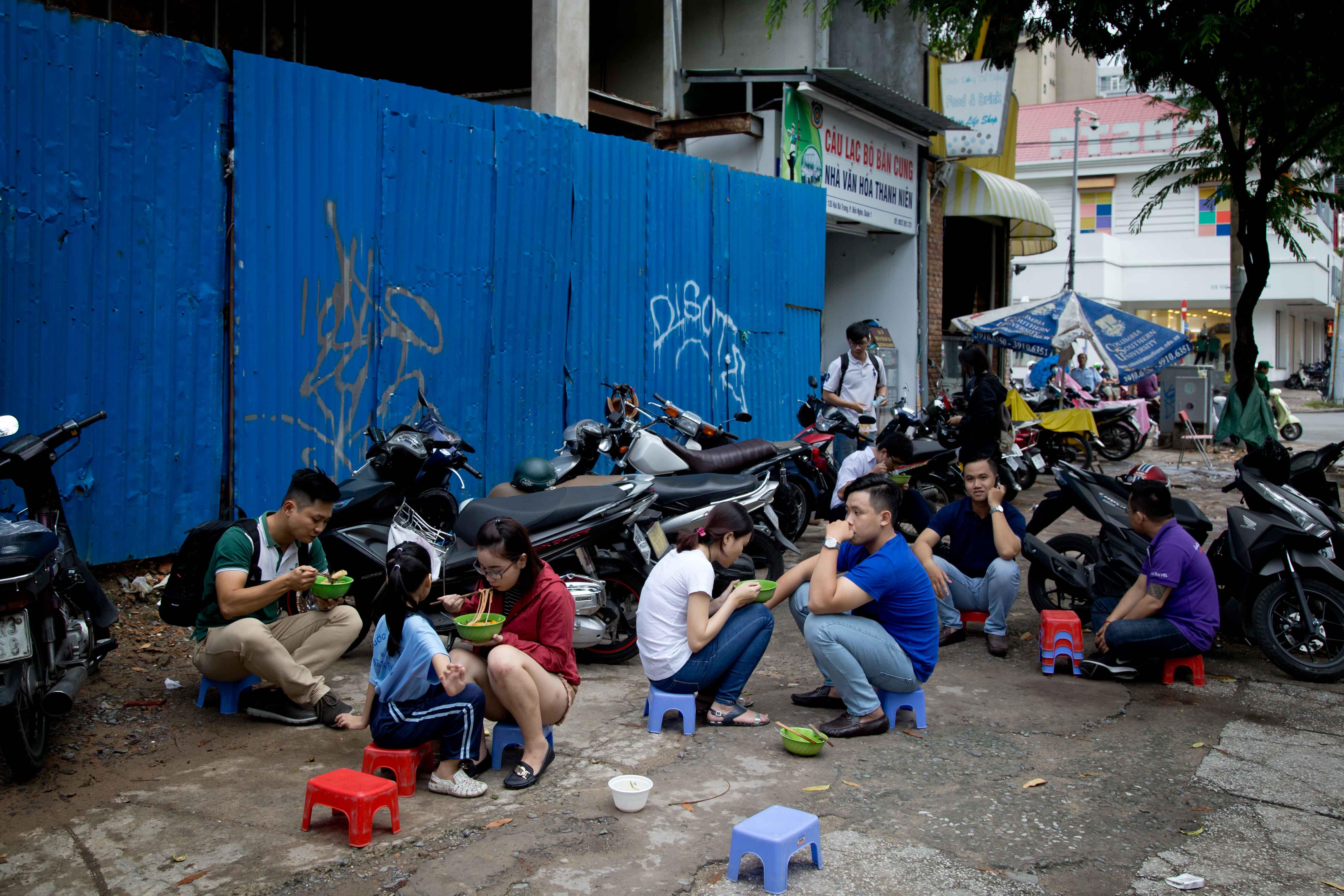 Saigon street feast