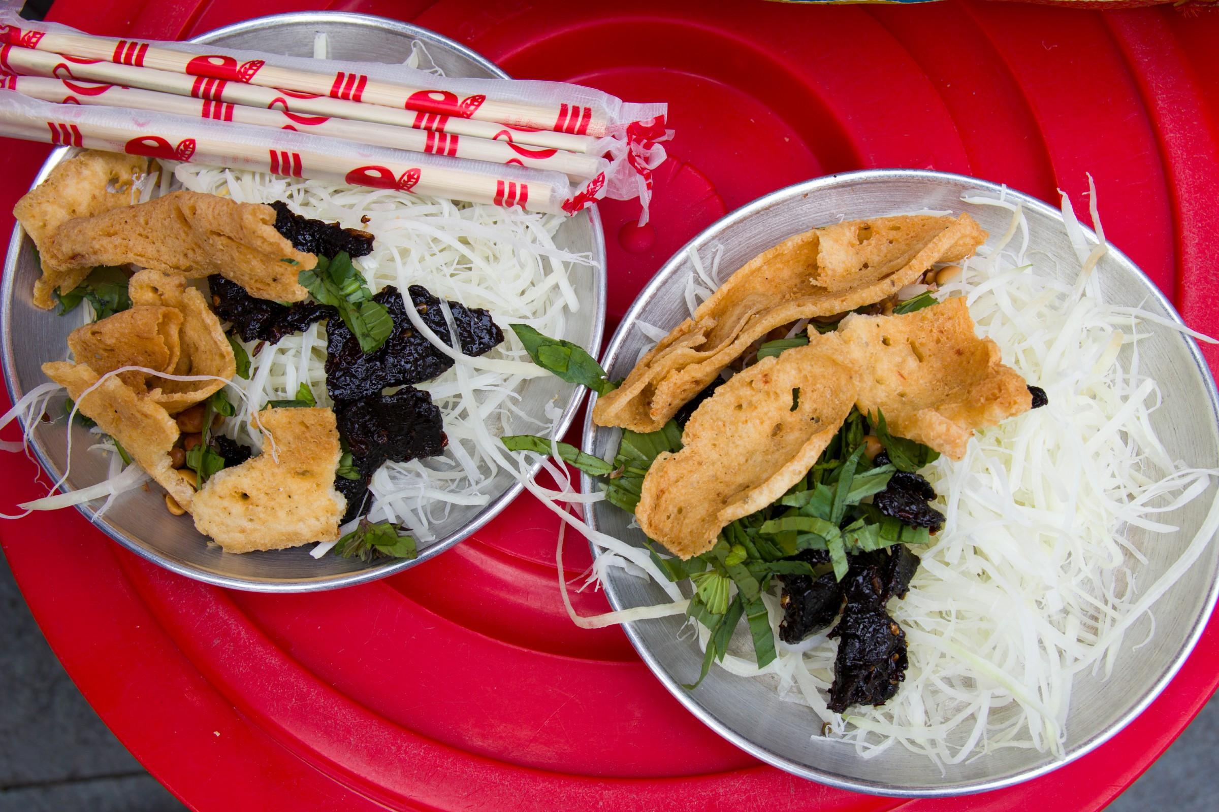 vietnamese beef papaya salad