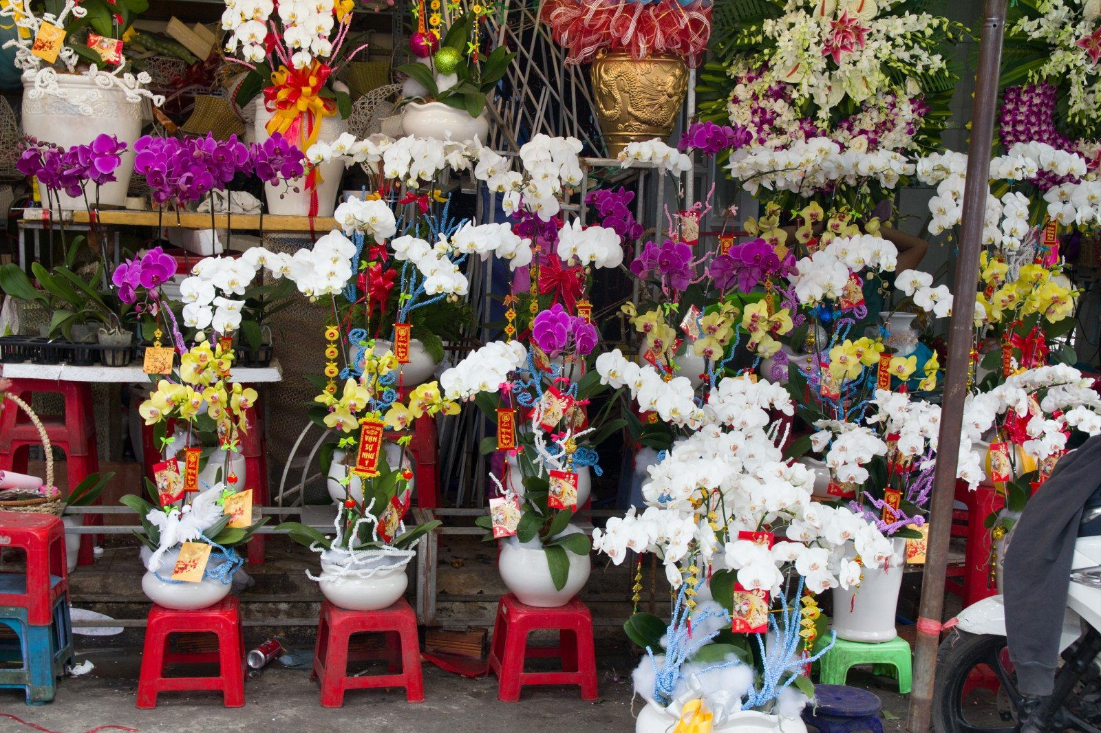where to buy flowers in ho chi minh city
